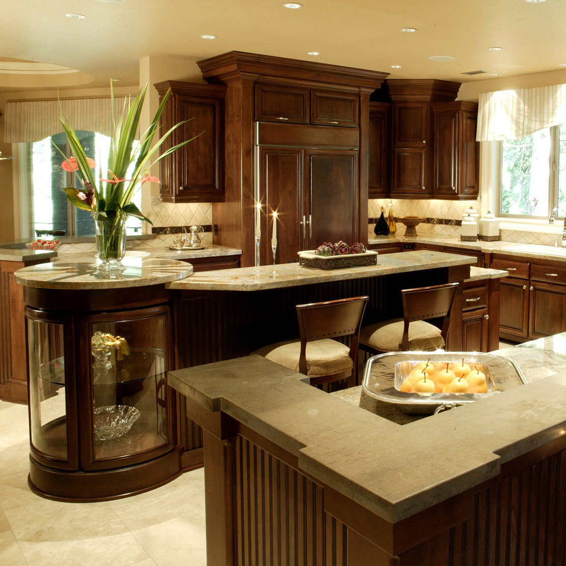 Flush Inset Cabinetry Requires Extra Time To Manufacture And Install Due To  The Precision That Is Part Of This Design. Again, Crown Moldings Or Other  ...
